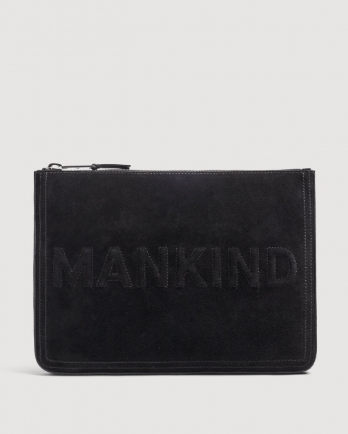 7 For All Mankind Large Mankind Black Clutch