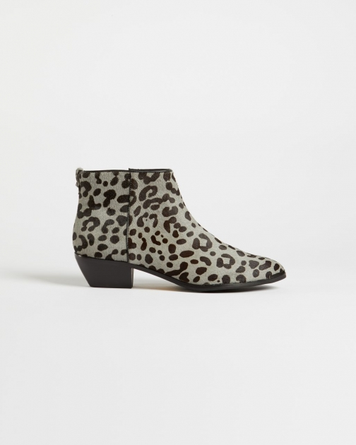 Ted Baker Leopard Print Ankle Boot