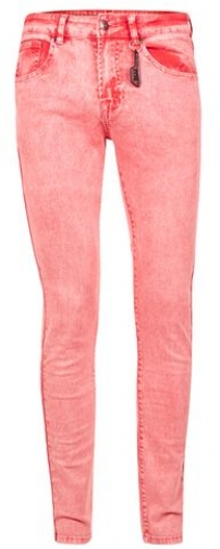 Topman Mens ALWAYS RARE Acid Wash Pink Super , Pink Skinny Jeans