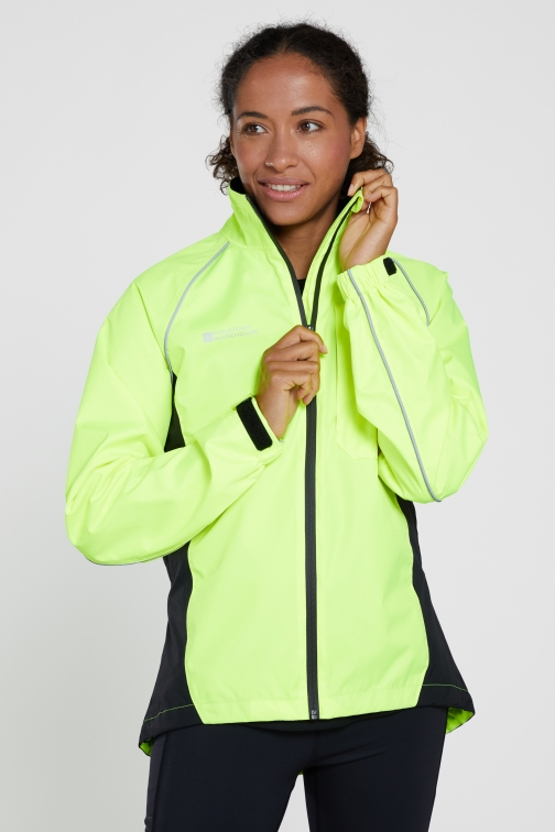 Mountainlife Adrenaline Womens Waterproof Iso-Viz - Yellow Jacket