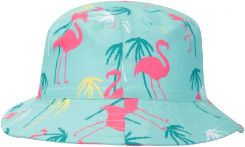 Mountain Warehouse Printed Kids Bucket - Teal Hat