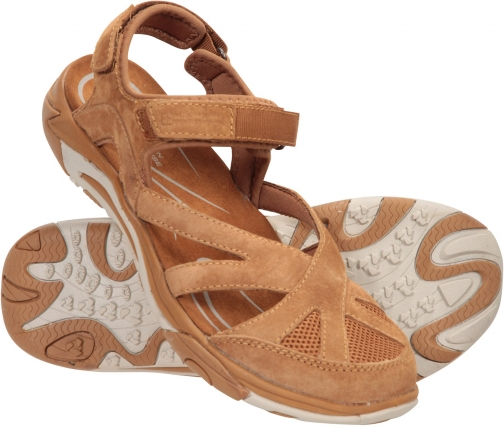 Mountain Warehouse Sussex Womens Covered - Brown Sandals