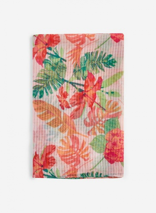 Dorothy Perkins Multi Colour Floral Palm Print Scarf