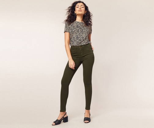 Oasis Lily Cargo Skinny Jeans