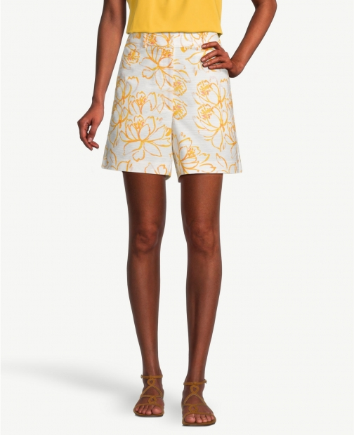 Ann Taylor Factory Floral With 6 Inch Inseam Short