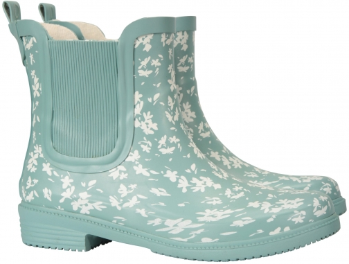 Mountain Warehouse Women's Printed Rubber Ankle - Green Welly
