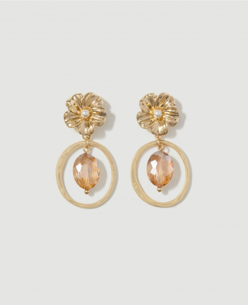 Ann Taylor Factory Floral Earring