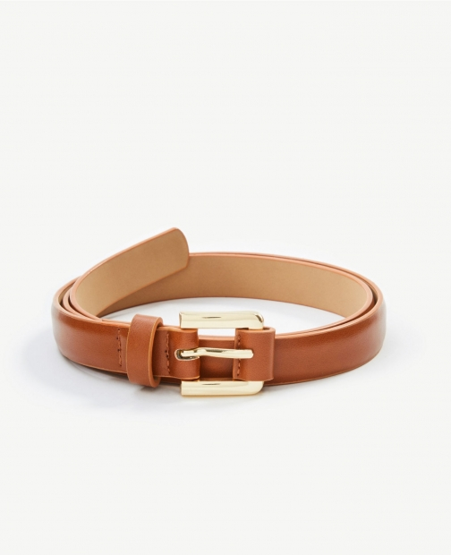 Ann Taylor Square Wrapped Buckle Belt
