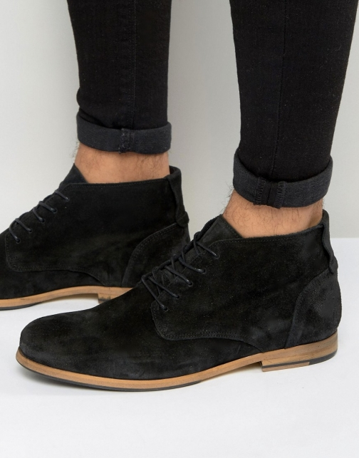 Shoe The Bear Oliver Suede Lace Up Boot