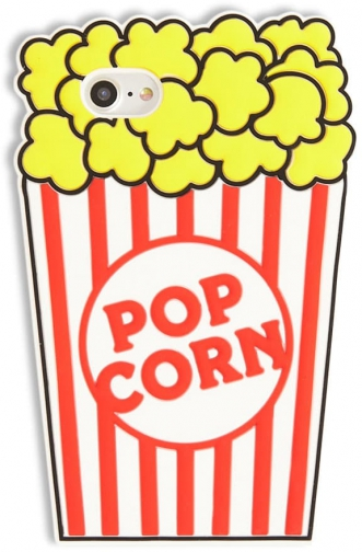 Forever21 Forever 21 Popcorn Graphic Phone For IPhone 6/7/8 , Yellow/multi Case