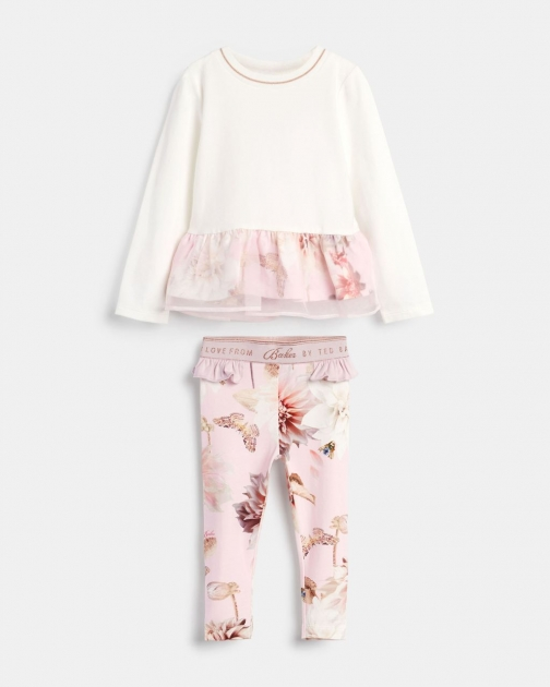 Ted Baker 239309 Ls Top With Printed Legging