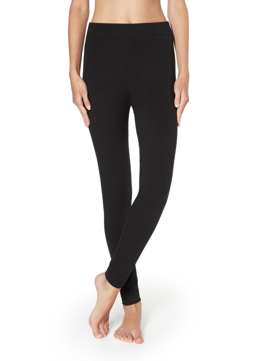 Calzedonia - Thermal , L, Black, Women Legging