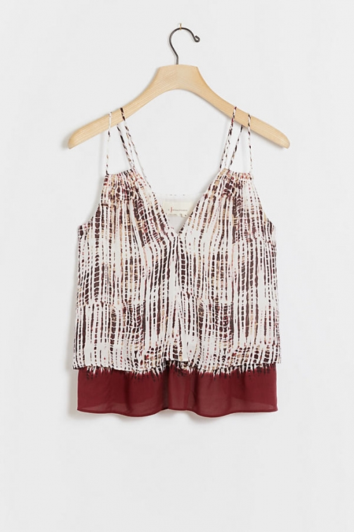 Anthropologie Dania Double-Strapped Cami Vest Top