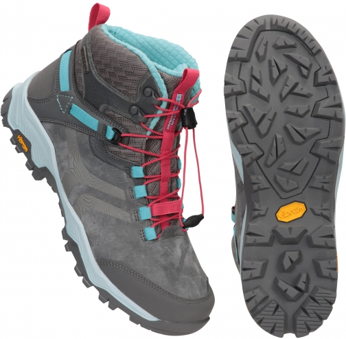 Mountain Warehouse Ultra Geneva Vibram Womens Waterproof - Grey Boot