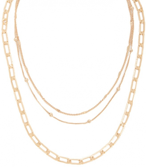 Forever21 Forever 21 Chain Link Necklace Set , Gold Jewellery