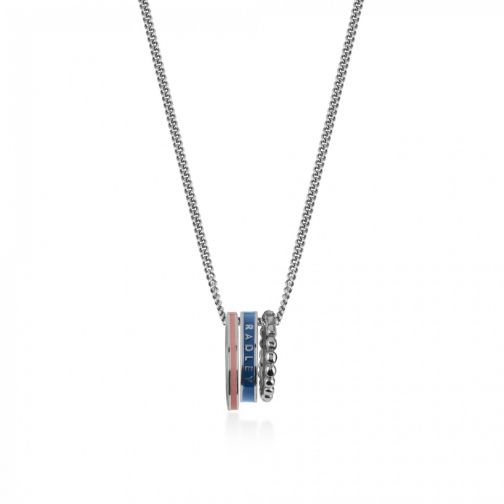 Oasis London Hatton Row Silver Necklace