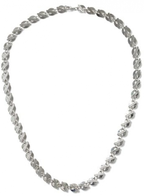 Topman Mens Silver Look Circle Disk *, SILVER Necklace