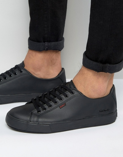 Kickers Tovni Lacer Leather Trainer