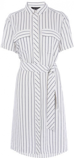 Karen Millen Striped Shirt Dress