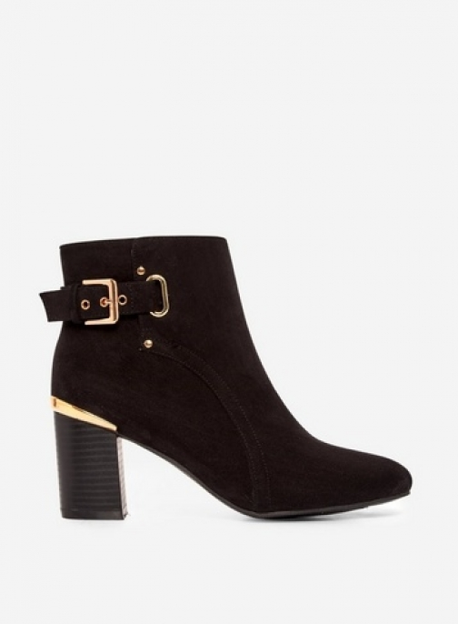 Dorothy Perkins Black 'Apple' Ankle Boot