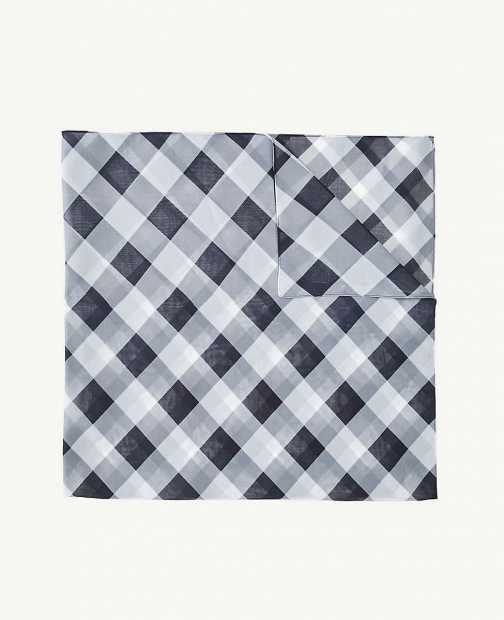 Ann Taylor Gingham Square Scarf