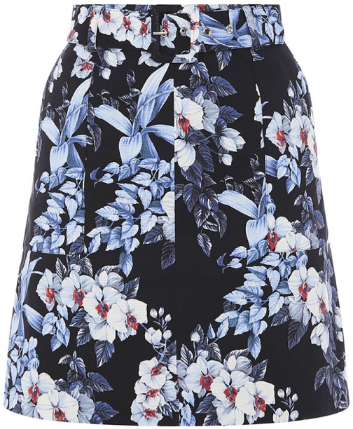 Oasis TROPICAL ORCHID Mini Skirt