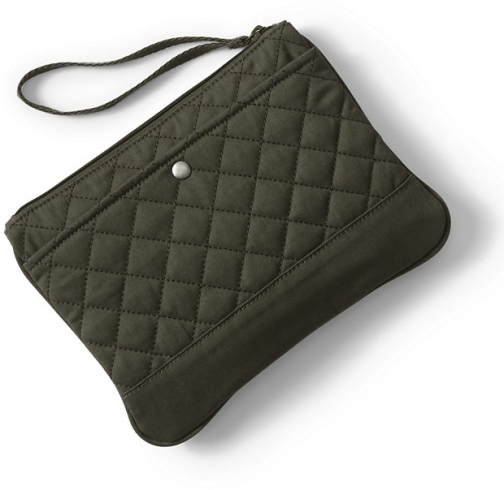 Lands' End Medium Quilted - Lands' End - Green Pouch