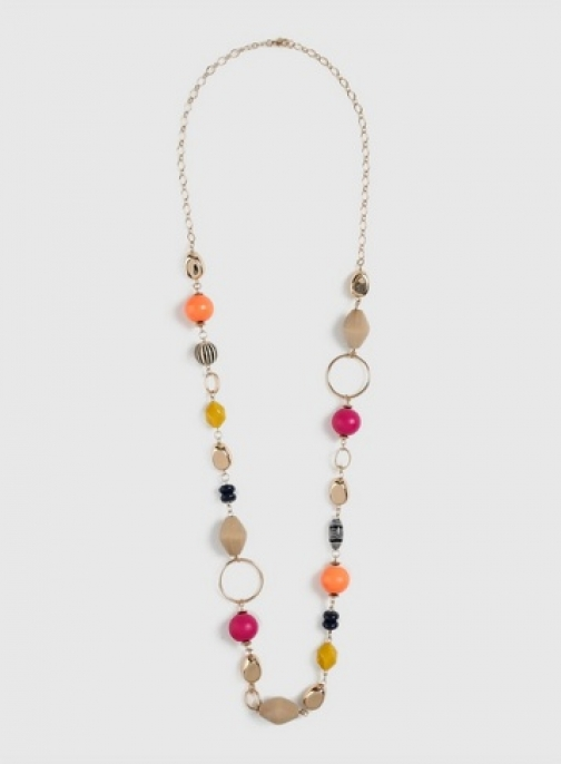 Dorothy Perkins Bright Multi Colour Bead Necklace