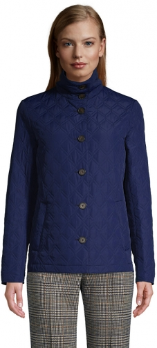 Lands' End Women's Insulated Packable Quilted Barn - Lands' End - Blue - XS Jacket