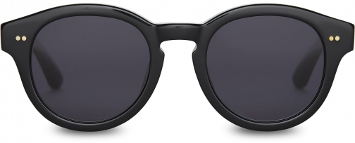 Toms Bellevue Shiny Black With Dark Grey Lens Sunglasses