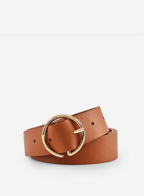 Dorothy Perkins Tan Half Circle Belt