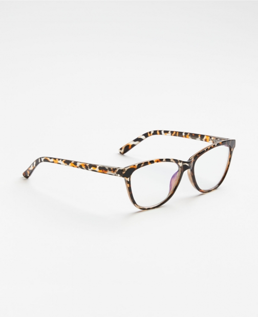 Ann Taylor Factory Splatter Cateye Reading Glasses IGNORE