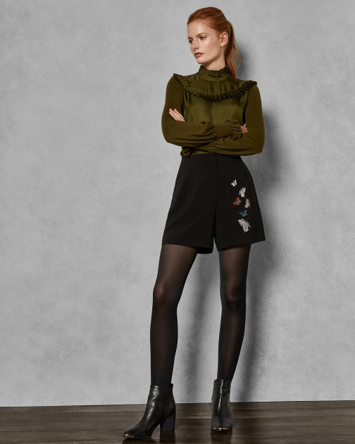 Ted Baker Narrnia Embroidered Short