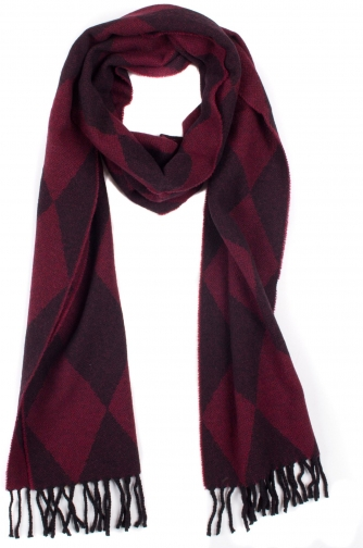 Dents Women`s Woven Harlequin Scarf