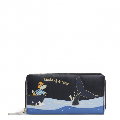 Radley Fisherman Large Zip Around Matinee Purse