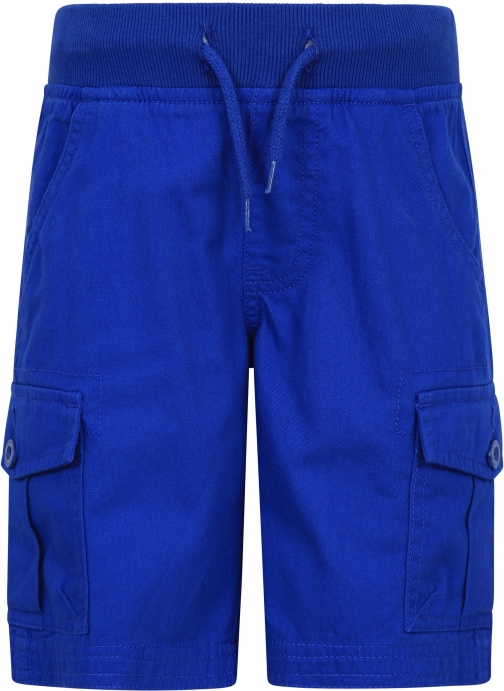 Mountain Warehouse Pull On Kids Cargo - Blue Short