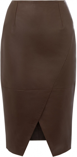 Oasis LEATHER Pencil Skirt