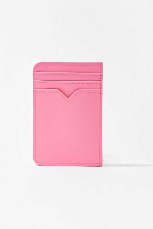 Forever21 Forever 21 Faux Leather Mini , Pink Wallet