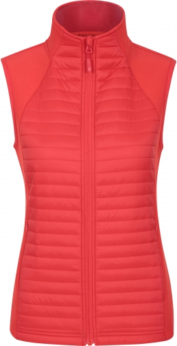 Mountain Warehouse London Womens Padded Softshell - Red Gilet