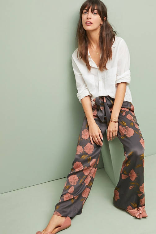 Anthropologie Ryder Wide-leg Trousers - Assorted, Size Uk Wide Leg Trouser