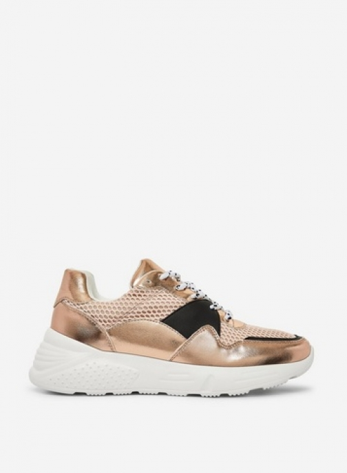 Dorothy Perkins Rose Gold 'Isaac' Trainer