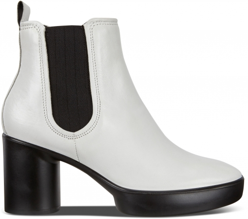 Ecco Shape Sculpted Motion 55 Womens Size 4 Bright White Boot