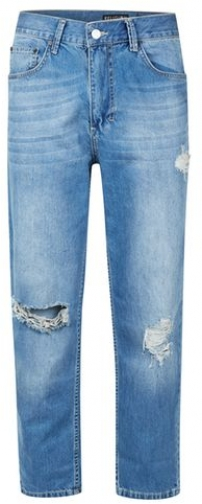Religion Mens RELIGION Blue Ripped , Blue Jeans