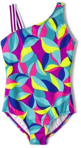 Lands' End Girls Sport One Piece - Lands' End - 4 Swimsuit