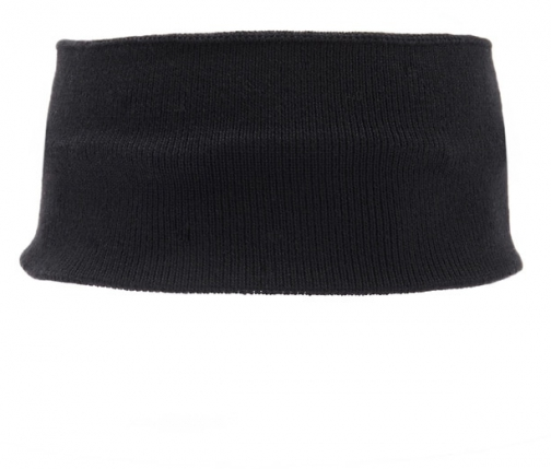 Forever21 Forever 21 Wide Ribbed Headband Black Headwear