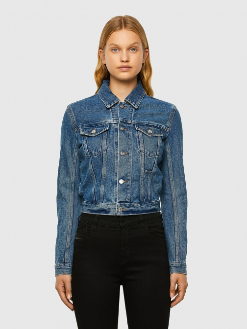 Diesel 069RF - Blue - XXS Denim Jacket