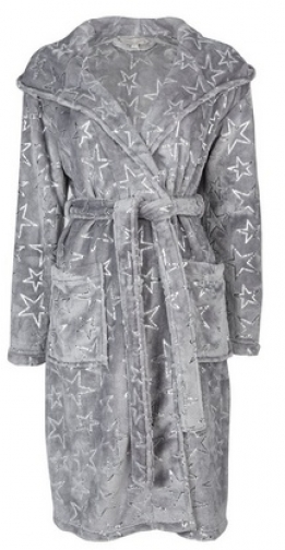 Dorothy Perkins Charcoal Foil Star Robe
