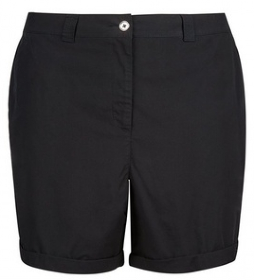 Dorothy Perkins Dp Curve Black Short
