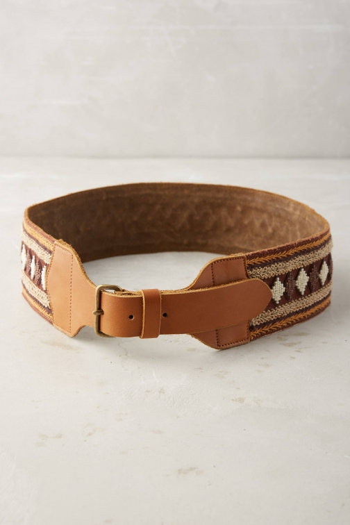 Anthropologie Sagada Beaded Belt