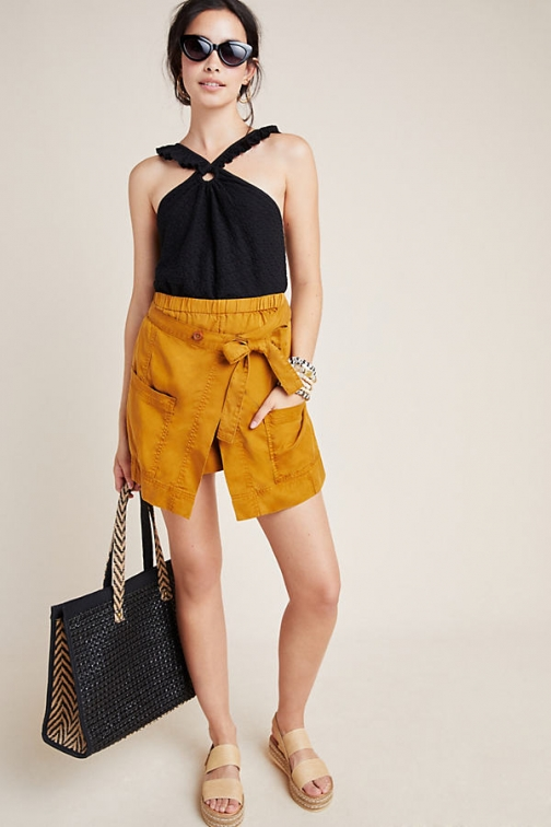Anthropologie Pennie Wrap-Utility Short